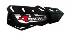 Racetech Black FLX Standard Handguards With Mount Kit Motocross Enduro